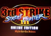 Jaquette du jeu Street Fighter III 3rd Strike : Online Edition