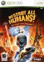 Jaquette du jeu Destroy All Humans ! En Route Vers Paname !