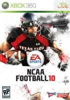 Jaquette du jeu NCAA Football 10