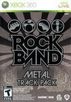 Jaquette du jeu Rock Band : Metal Track Pack