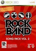 Jaquette du jeu Rock Band Song Pack 2