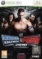 Jaquette du jeu WWE Smackdown vs Raw 2010