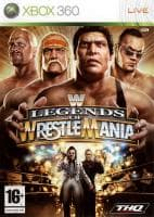 Jaquette du jeu WWE Legends of Wrestlemania