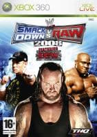 Jaquette du jeu WWE Smackdown vs Raw 2008