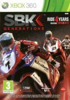 Jaquette du jeu SBK Generations