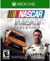 Jaquette du jeu NASCAR Heat Evolution
