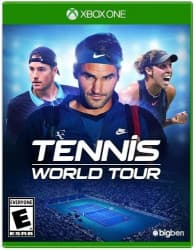 Jaquette du jeu Tennis World Tour