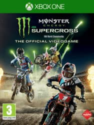 Jaquette du jeu Monster Energy Supercross