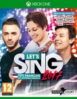 Jaquette du jeu Let's Sing 2017 : Hits Français et Internationaux