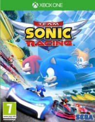 Jaquette du jeu Team Sonic Racing