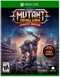 Jaquette du jeu Mutant Football League : Dynasty Edition