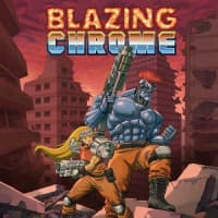 Jaquette du jeu Blazing Chrome