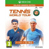 Jaquette du jeu Tennis World Tour Roland-Garros Edition