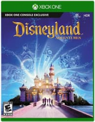 Jaquette du jeu Kinect Disneyland adventures