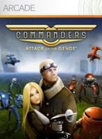 Jaquette du jeu Commanders : Attack Of The Genos