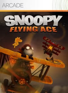 Jaquette Snoopy Flying Ace