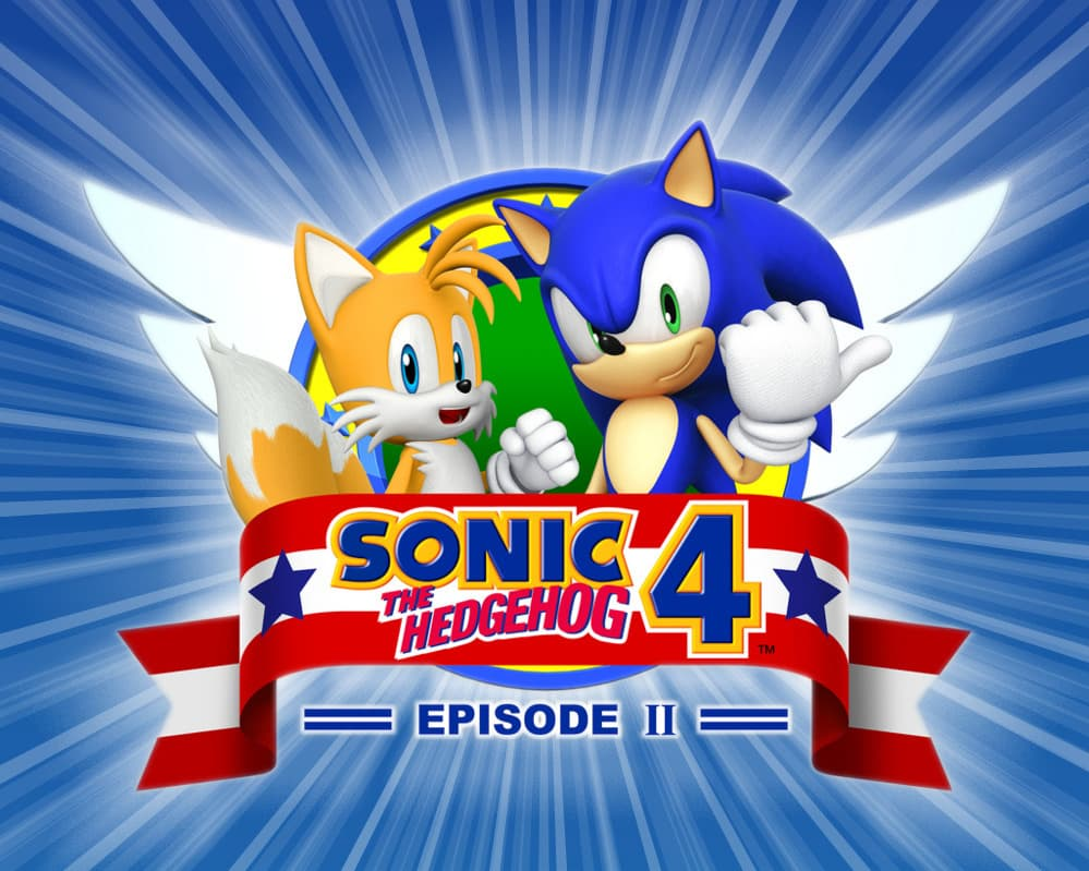 Jaquette Sonic the Hedgehog 4 : Episode 2