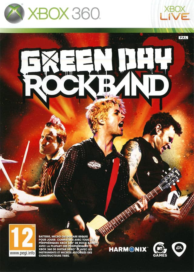 Jaquette Green Day : Rock Band