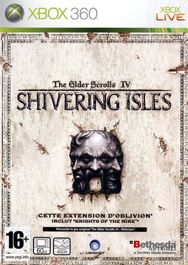 Jaquette The Elder Scrolls IV : Oblivion : The Shivering Isles