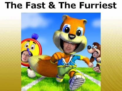 Jaquette The Fast and the Furriest
