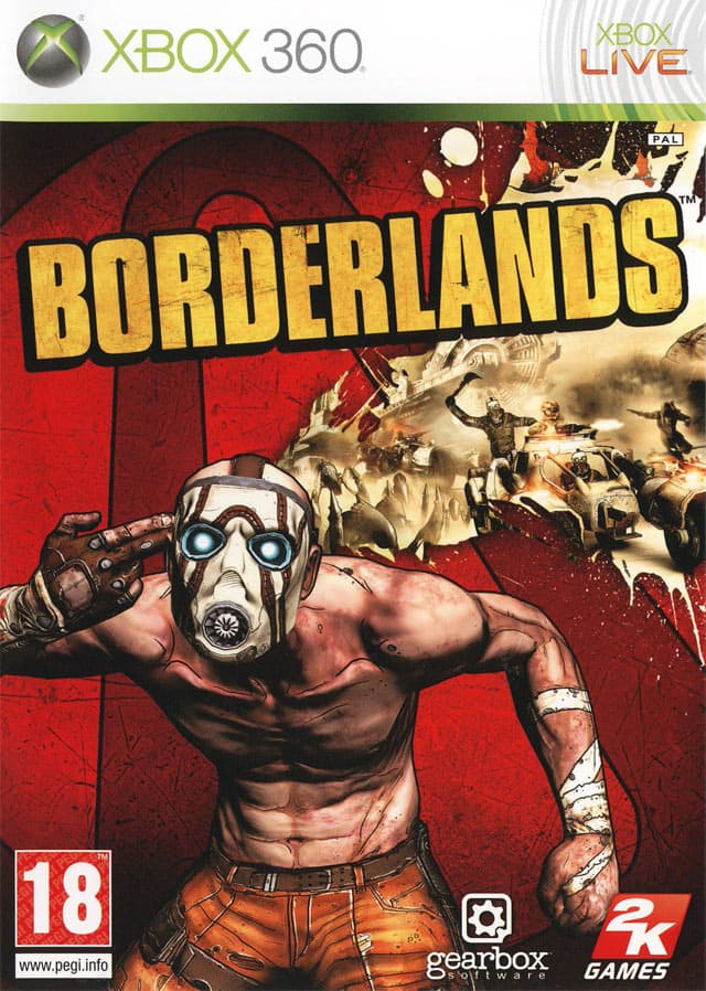 Jaquette Borderlands