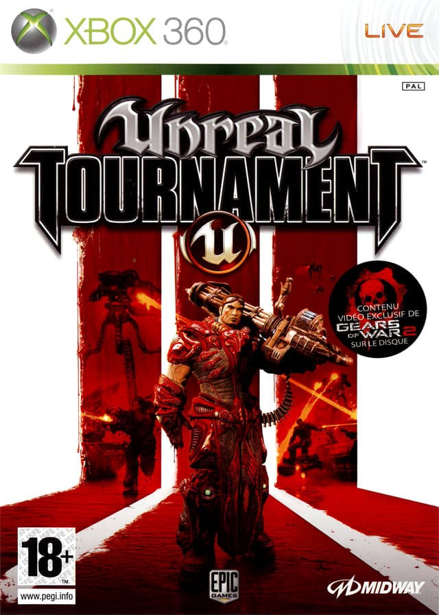 Jaquette Unreal Tournament III