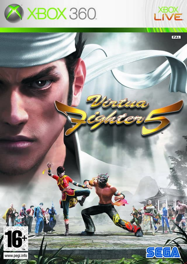 Jaquette Virtua Fighter 5