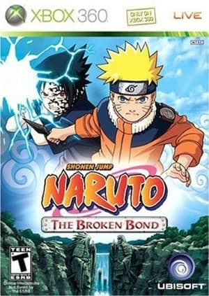 Jaquette Naruto : The Broken Bond