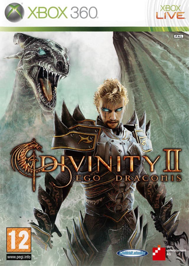 Jaquette Divinity II : Ego Draconis