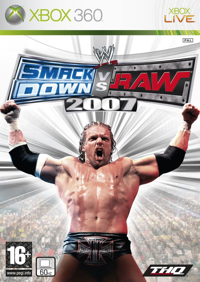 Jaquette WWE Smackdown vs Raw 2007
