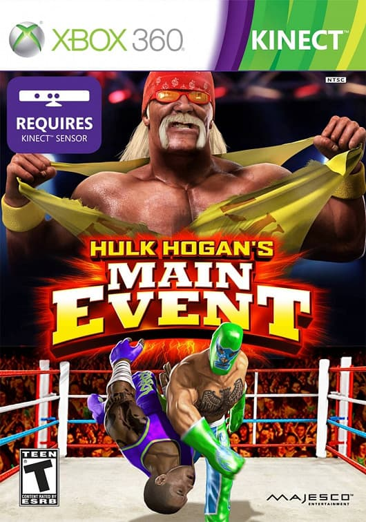 Jaquette Hulk Hogan's Main Event