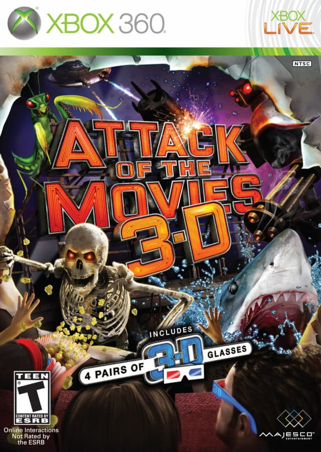 Jaquette Attack of the Movies 3D
