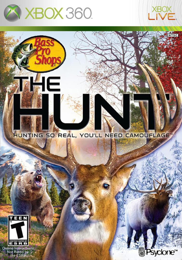 Jaquette Bass Pro Shops : The Hunt