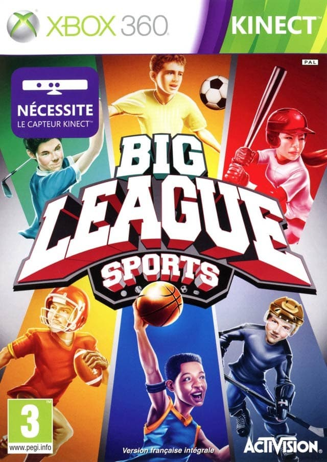 Jaquette Big League Sports