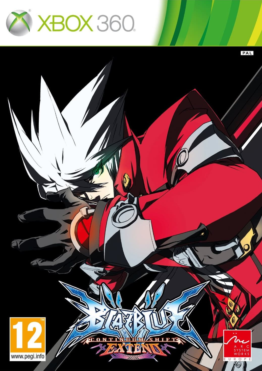 Jaquette BlazBlue : Continuum Shift Extend