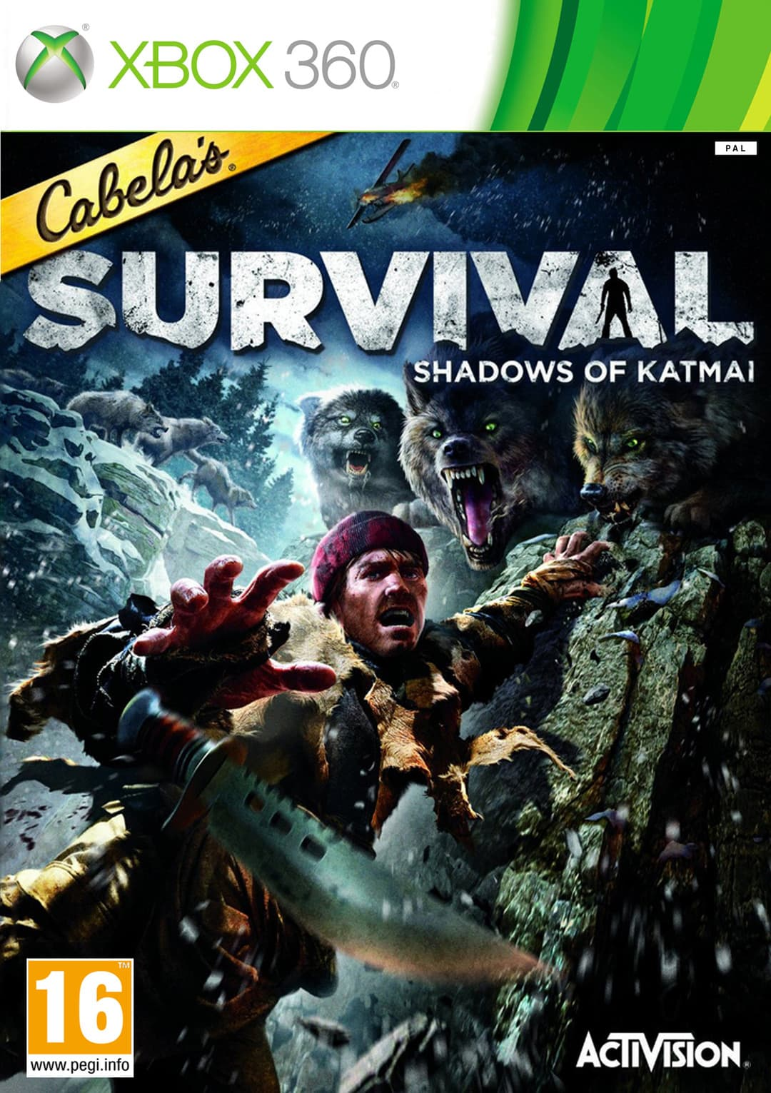 Jaquette Cabela's Survival : Shadows of Katmai