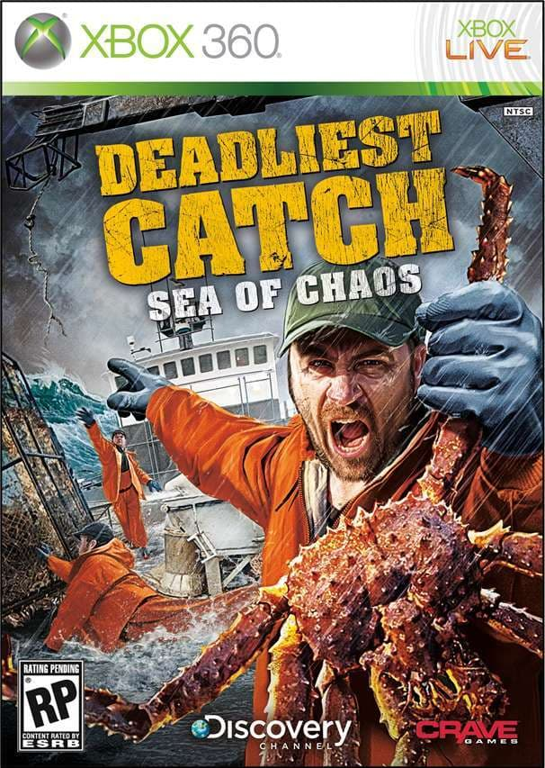 Jaquette Deadliest Catch : Sea of Chaos