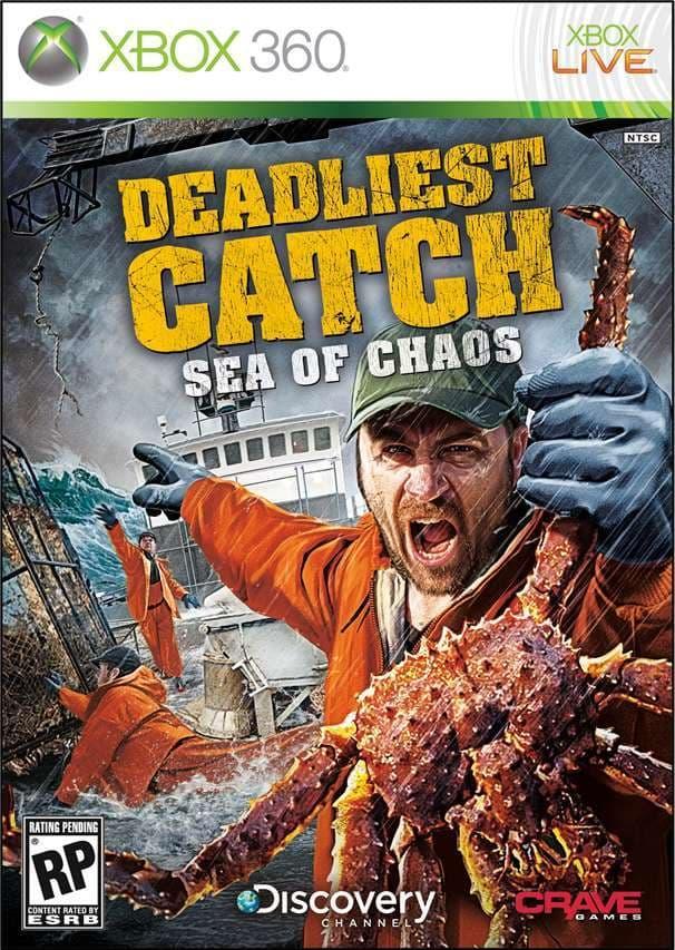 Jaquette Deadliest Catch: Sea of Chaos