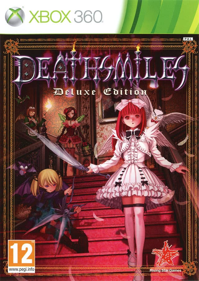 Jaquette Deathsmiles Deluxe Edition