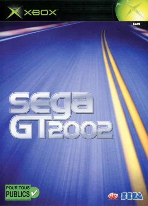 Jaquette Sega GT 2002