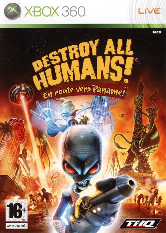 Jaquette Destroy All Humans ! En Route Vers Paname !