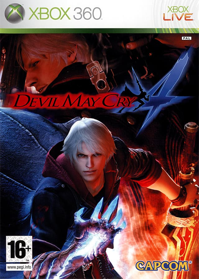 Jaquette Devil May Cry 4