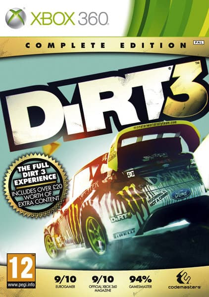 Jaquette DiRT 3 : Complete Edition