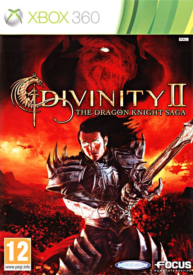 Jaquette Divinity II : The Dragon Knight Saga