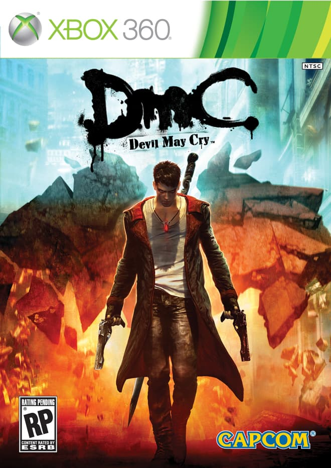 Jaquette DmC Devil May Cry