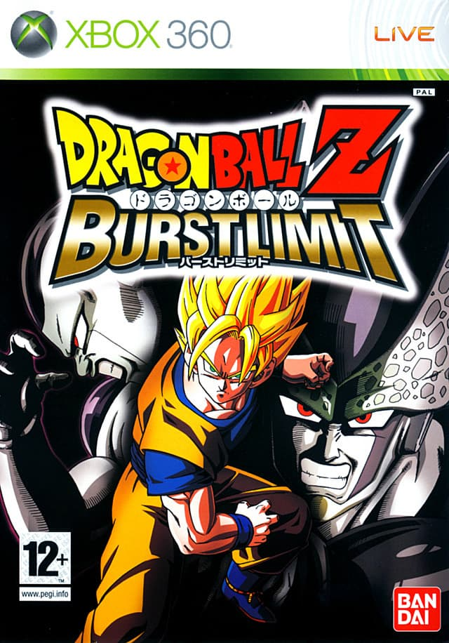 Jaquette Dragon Ball Z : Burst Limit