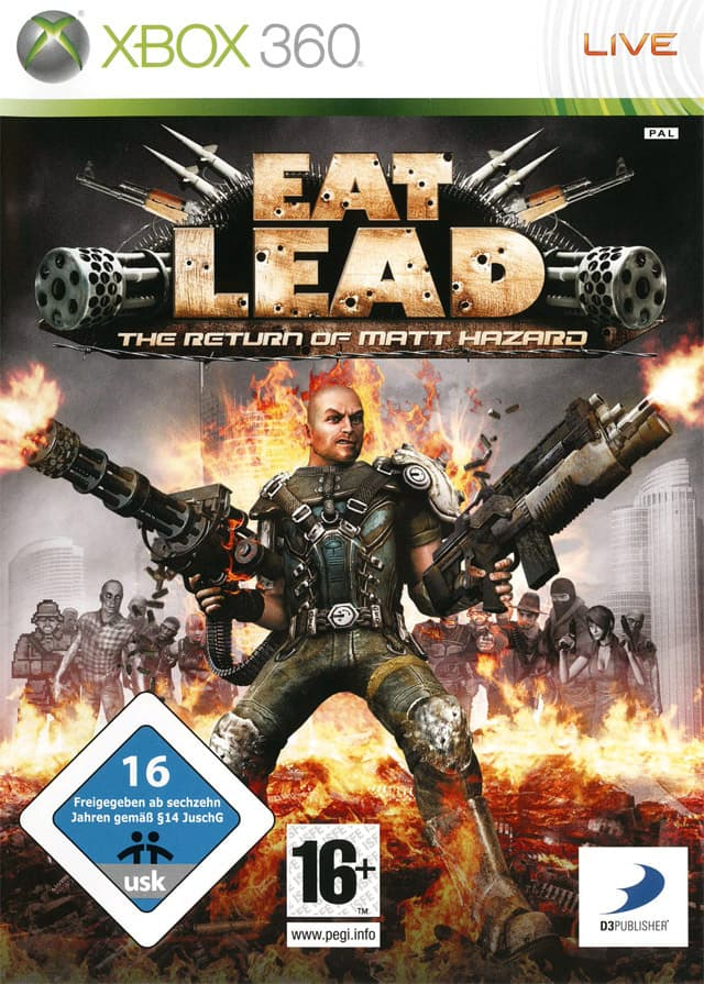 Jaquette Eat Lead: The Return of Matt Hazard
