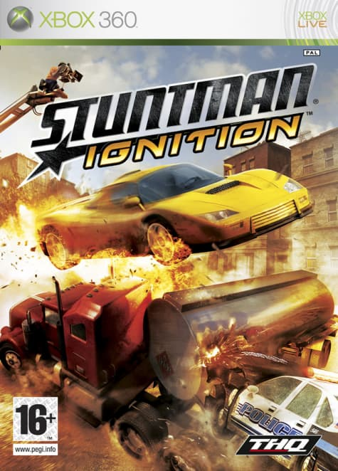 Jaquette Stuntman Ignition