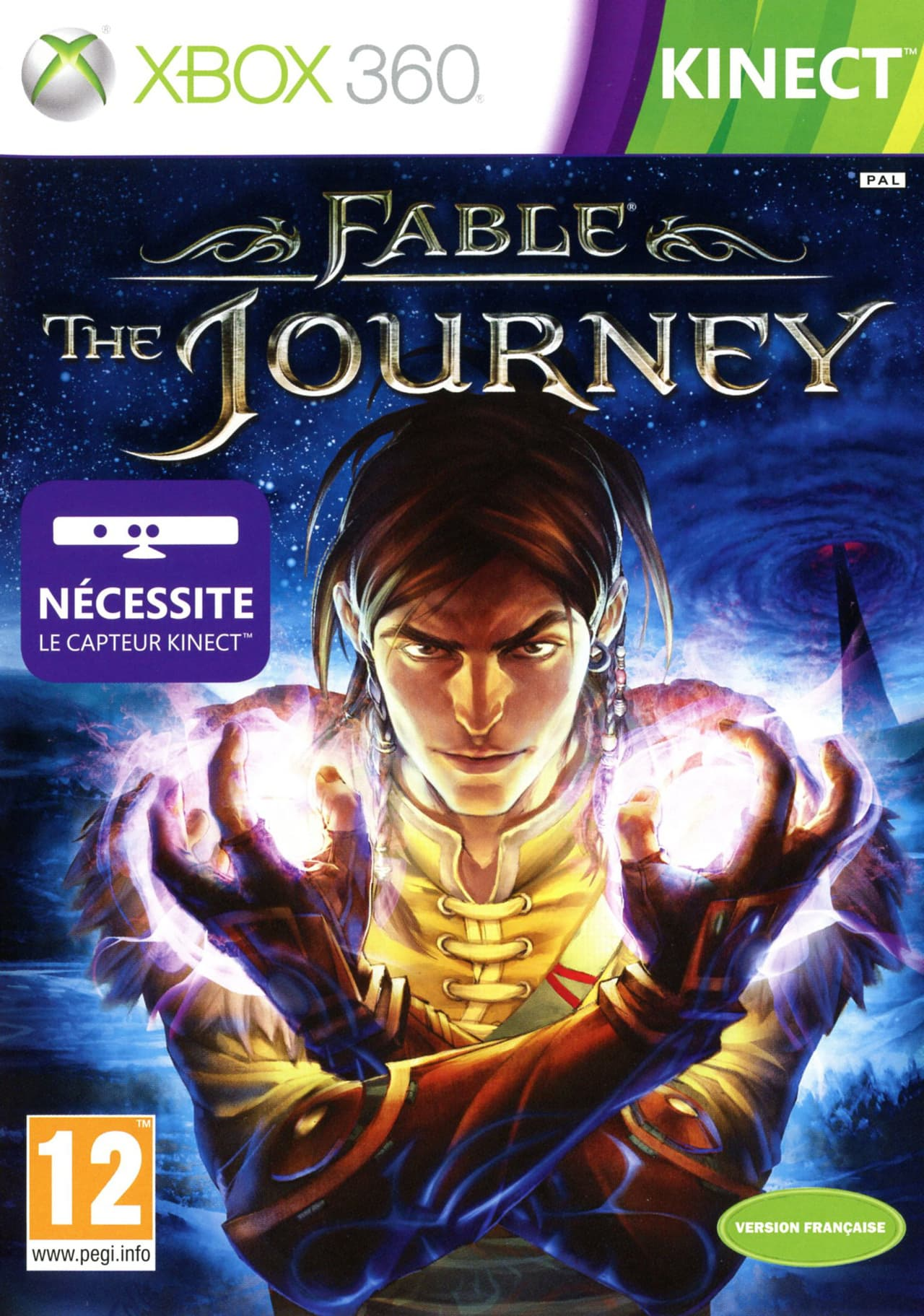Jaquette Fable : The Journey