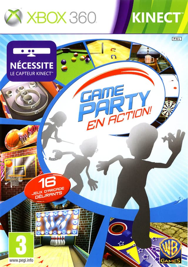 Jaquette Game Party : En Action !
